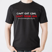 Can't eat coal, Can't drink gas