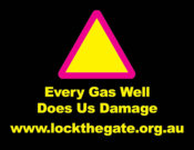 Every gas well does damage