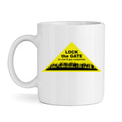 Lock the Gate triangle and can't eat coal mug